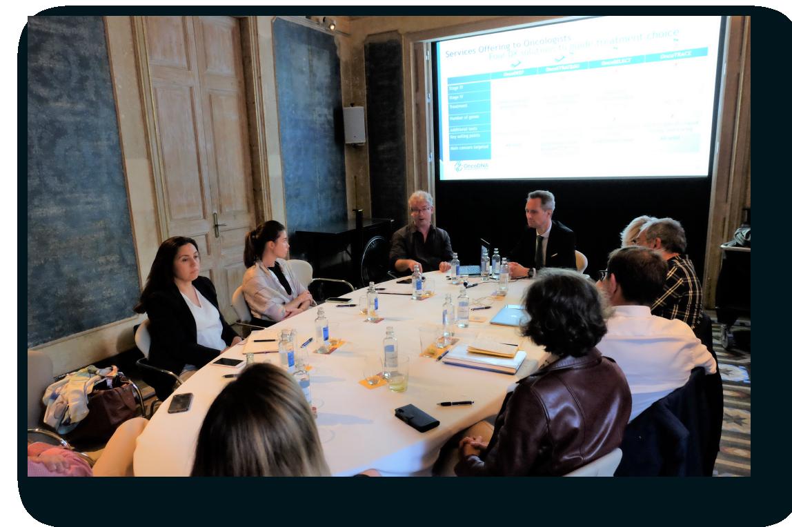 Reunión del comité científico de OncoDNA en ESMO 2019