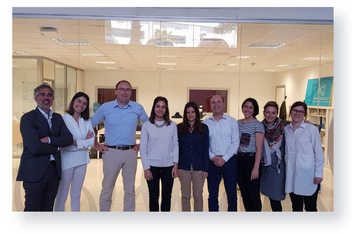 Team building 2019 de OncoDNA en Dinant, Bélgica